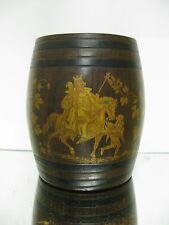 Rafraichissoir/cache pot Bacchus pate a papier XIXe siècle