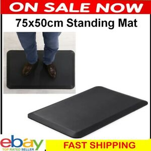 Anti Fatigue Standing Mat Memory Foam Comfort Pad Joint Support Kitchen Desk NEW