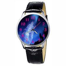 Wolfs Howl Stainless Wristwatch Wrist Watch