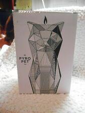 NEW PYRO PET with CANDLE SKELETON Cat Figurine KISA Grey  #10051 Pyropet OSR5