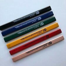 J. S. Bach Carpenter Pencil - 6 pack, multi-color