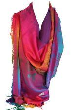 Écharpes et châles étoles multicolores avec un motif Floral pour femme
