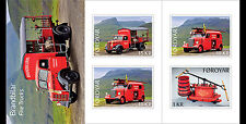 Faroes 2016 Fire truck booklet mnh/postfris us