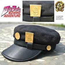 New ListingJoJo's Bizarre Adventure Kujo Jotaro Cap Cosplay Badge Hats Anime & Manga Unisex