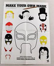 Rey Mysterio Jr Wrestling Mask Magazine Poster New Lucha Libre Wrestler WWE WWF