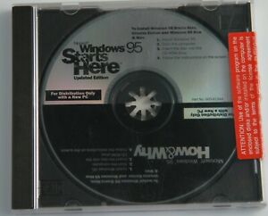 WINDOWS 95 STARTS HERE HOW & WHY DVD