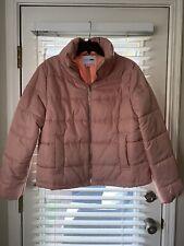 Women's Fashion Nova Padded Jacket Pink Large