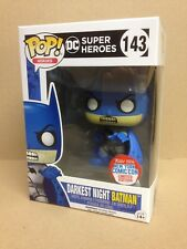 FUNKO POP! DC Darkest Night Batman NYCC 2016 #143 Exclusive Vinyl Figure NEW
