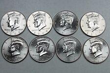 2008 2009 2010 2011 P D Uncirculated Kennedy Half Dollar Mint Roll Set