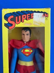 1974 Mego SUPERMAN mint in nice BOX !!!!   4 panel 2nd issue window BOX !!!