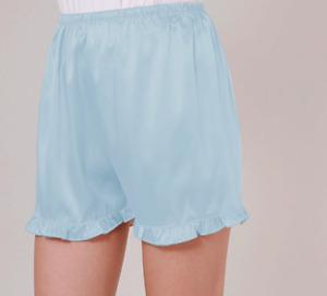 Women Anti-Static Slips Pettipants Satin Bloomers Panties Shorts Pajama Trousers