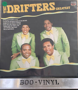 """THE DRIFTERS ~ GREATEST 12"""" VINYL RECORD SOUL / MOTOWN EX / EX CON"""