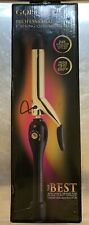 "Gold 'n Hot Professional Spring Curling Iron 3/4"" High Heat 500 Best for Curly"