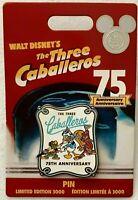 2019 Disney D23 Expo The Three Caballeros 75th Anniversary Pin LE 3000