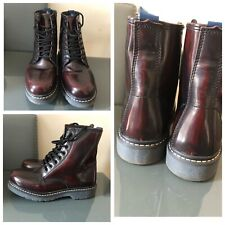 US Polo ASSN Ladies Womens Brown Boots Size 4 Eur 35