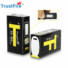 Trustfire  2X 9V Li-ion Micro USB Rechargeable Batteries 550mAh For KTV Game NEW