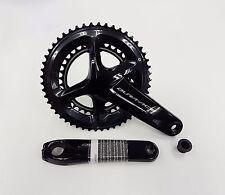 Shimano Crank Dura Ace Bicycle Crankset 2x11 Speed FC-R9100 53x39T 170mm Black