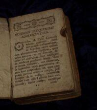 STUDIOSIS ELOQUENTIAE ADOLESCENTIBUS LIBRO DEL 700 SETTECENTINA