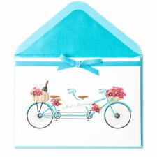 """Papyrus Card """"Just Married"""" Tandem Bike"""