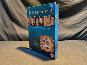 Friends The Complete Third Season DVD Box Set R2 + Tracked Delivery!