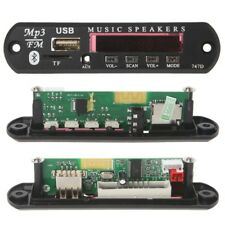 Wireless Bluetooth 12V MP3 WMA Decoder Board Audio Module USB TF Radio