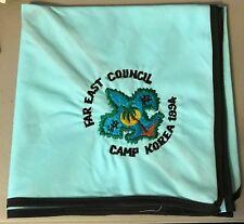 BSA Far East Council Neckerchief, Camp Korea 1994