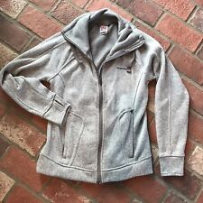 Avalange Womens Size M Gray zip up Comfy Cozy Athletic Outdoors Jacket