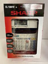 Sharp Calculators Printing Calculator El1801V El1801V - New Fast Shipping