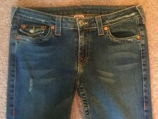 TRUE RELIGION Stretch Joey Distressed Excellent Condition Size 30x32