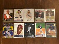 Carlos Pena - Tampa Bay Rays - 10 Baseball Card Lot - No Duplicates