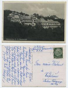 51510 - Grimmenstein - Hauptanstalt - Ansichtskarte, gelaufen 27.9.1941