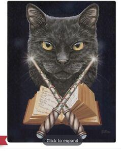 Magick Maker Canvas Plaque By Lisa Parker. Size 19 X 25 Cm