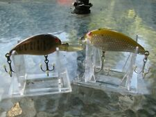 Vintage Bomber Model A's Lure Baits Screwtail