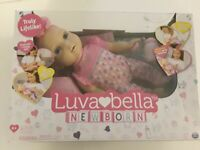 Luvabella Newborn Baby Doll Blonde Hair (Defective Does Not Move) Toy Infant
