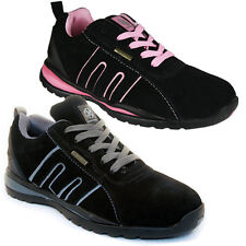 MEN WOMEN SAFETY TRAINERS SHOES BOOTS WORK STEEL TOE CAP HIKER SIZE 5-13UK