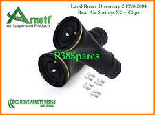 Arnott LAND ROVER DISCOVERY EAS x2 sospensione PNEUMATICA POSTERIORE MOLLA SACCHI / SOFFIETTO TD5