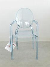 Lou Lou Ghost 2852 Philippe Starck Kartell eisblau Kinderstuhl