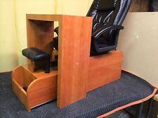 pedicure chair & pibb's table nc01 +footsie tab no plumbing