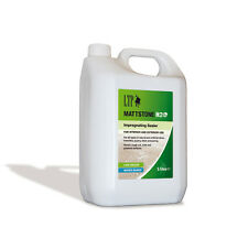 LTP H20 Mattstone Stain Stop Natural Stone Sealer 5Ltr, Travertine etc