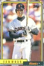 Ted Wood Giants 1992 Topps #358