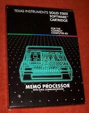 NEW TI Compact Computer CC-40 Memo Processor MODULE Cartridge CC40