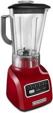 KitchenAid 5-Speed blender ksb650er 650 Series.9HP Shatter-Resistant Jar Red New