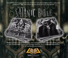 The Satanic Bible - Anton LaVey - Giger by BooksRecovered FREE SHIPPING