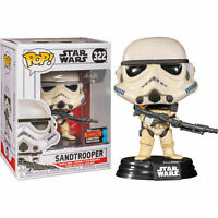 Star Wars - Sandtrooper NYCC Funko Pop Vinyl New in Mint Box + Protector