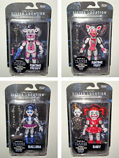 "SET OF ALL 4 SISTER LOCATION - FIVE NIGHTS AT FREDDY'S 6"" inch Figures FUNKO NEW"