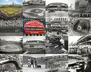 Chicago Cubs Wrigley Field Historic Baseball Field World Series Caray CHOICES
