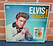 "Elvis Presley ""elvis Is Back "" 2018 LP Stereo Reissue 180g Color Vinyl"