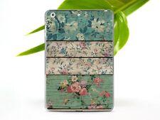Flowers iPad Mini 2 3 4 5 Air 2 3 2019 Cover Wood iPad Pro 12.9 9.7 10.5 Case