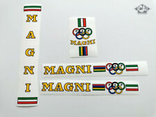 MAGNI PEP ICS yellow decal set sticker complete bicycle FREE SHIPPING