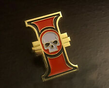 Warhammer 40k Imperial Inquisition Enamel Badge Pin